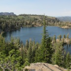 Backpacking to Kinney Lakes