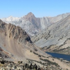 Backpacking from Virginia Lakes to Frog Lakes