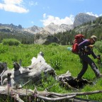 Backpacking Molybdenite Canyon to Burt Canyon